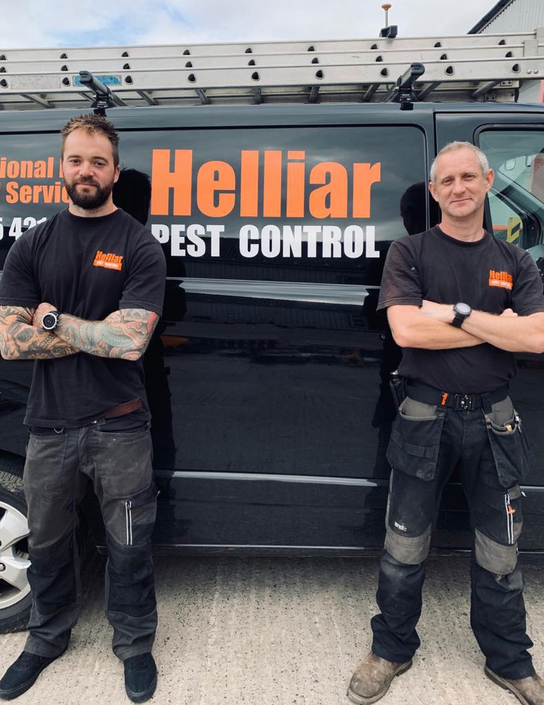 Helliar Pest Control - Yeovil - Meet the team